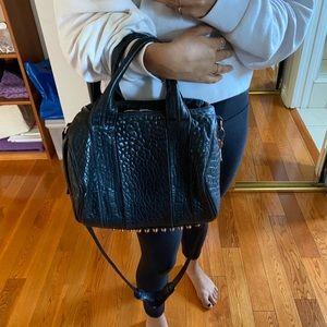Alexander Wang Rockie Rose Gold Studded Bag